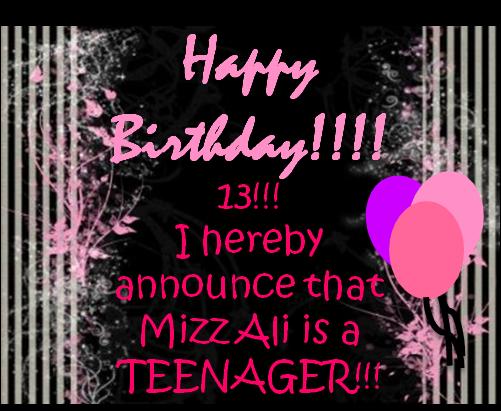 Happy Birthday Rinz Cake