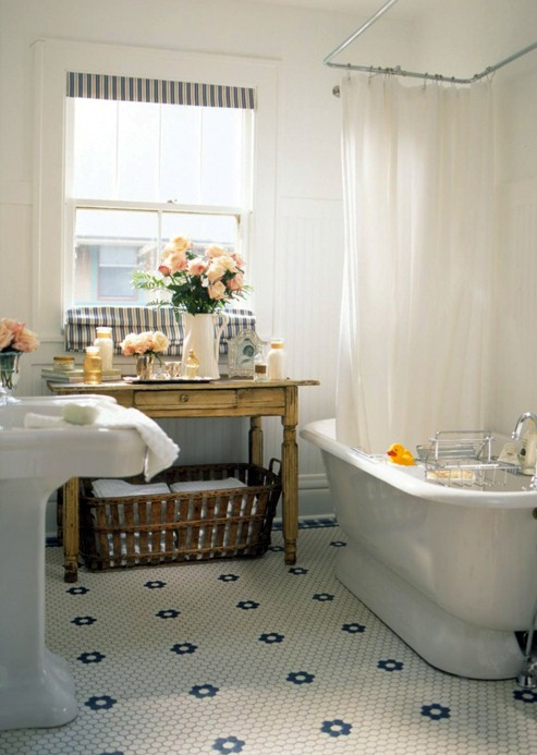 Living Livelier: Inspiration: Neutral Bathroom Roundup