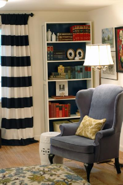 Living Livelier Round Up Horizontal Striped Curtains