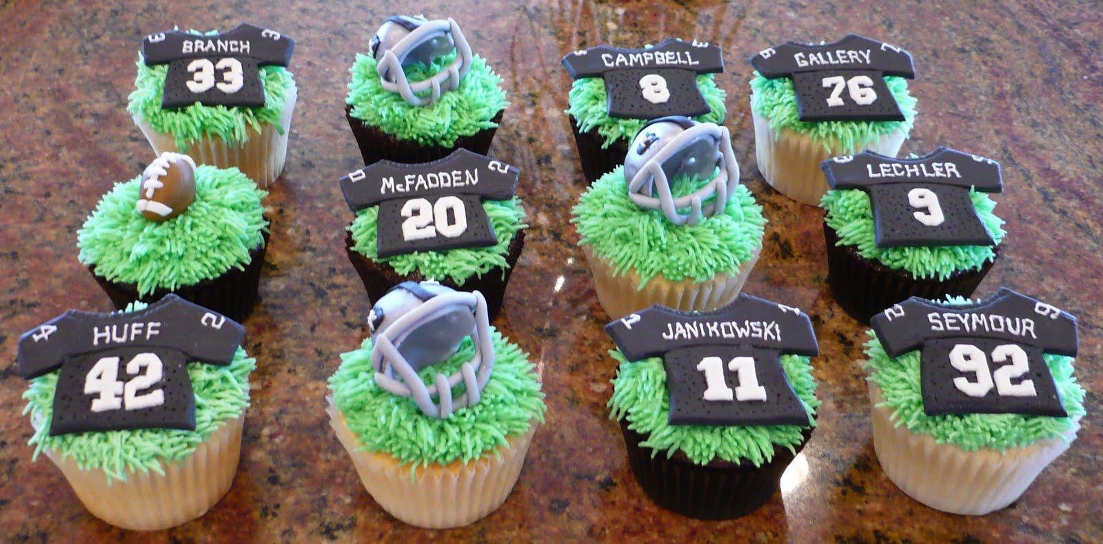 Raider Cupcakes Cake Ideas And Designs
