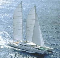 Charter Catamaran Douce France in the Indian Ocean