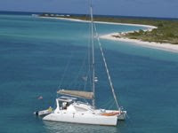 Charter Catamaran Alexis. Contact ParadiseConnections.com