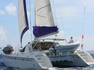 Catamaran Amaryllis - Crewed yacht charters Virgin Islands sailing vacations. Contact ParadiseConnections.com