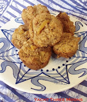 Papaya Pineapple Bran Muffins - Charter Yacht THREE MOONS recipe