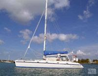 Charter catamaran SURPRISE with ParadiseConnections.com