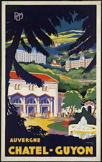 affiche PLM Châtel Guyon