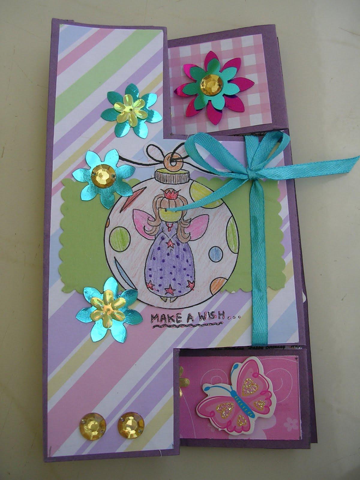 Vishesh Collections Handmade By Deepti Folded Birthday Card