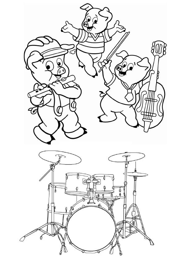 O Blog da Expressão Musical 2011 / 2012: Desenhos para Colorir