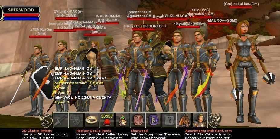Best computer games!: Online MMORPG game: Sherwood Dungeon