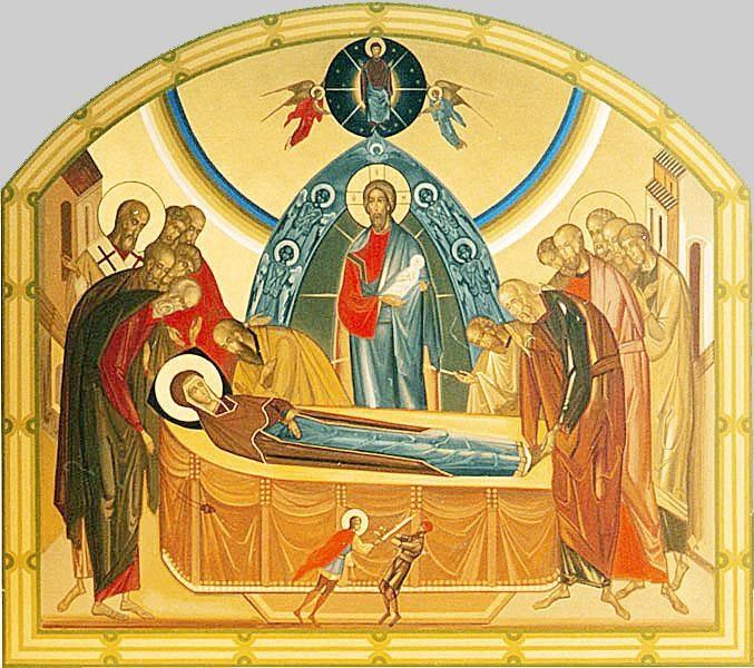 在地若天: 恭喜瞻禮:聖母蒙召升天……