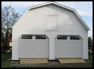 What S New At Wood Tex Products 24x28 2 Story Garage
