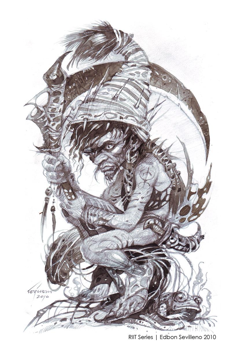 Edbon Sevilleno Fantasy Art