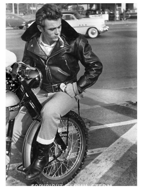 James Dean's Triumph Back from the Grave | Norton Commando
