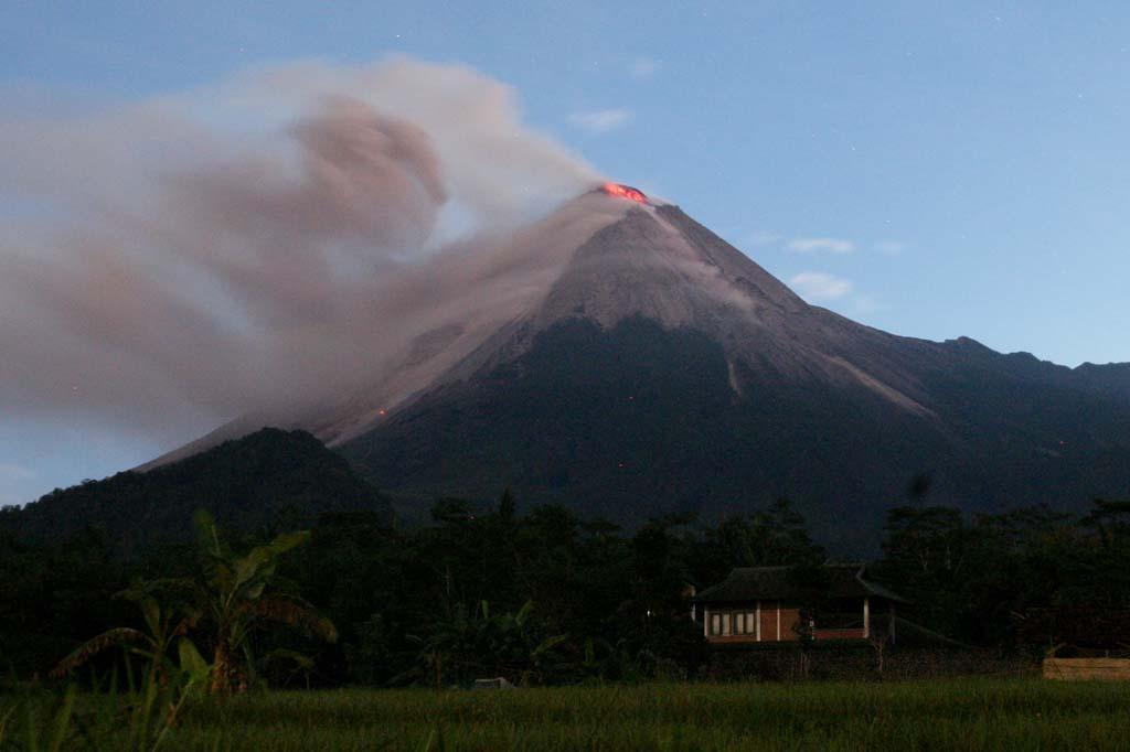 Gambar Gunung Merapi Yogyakarta