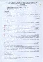 Subiecte chimie date la titularizare 2008