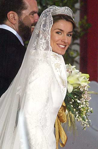 Princesses lives Letizia and Felipe