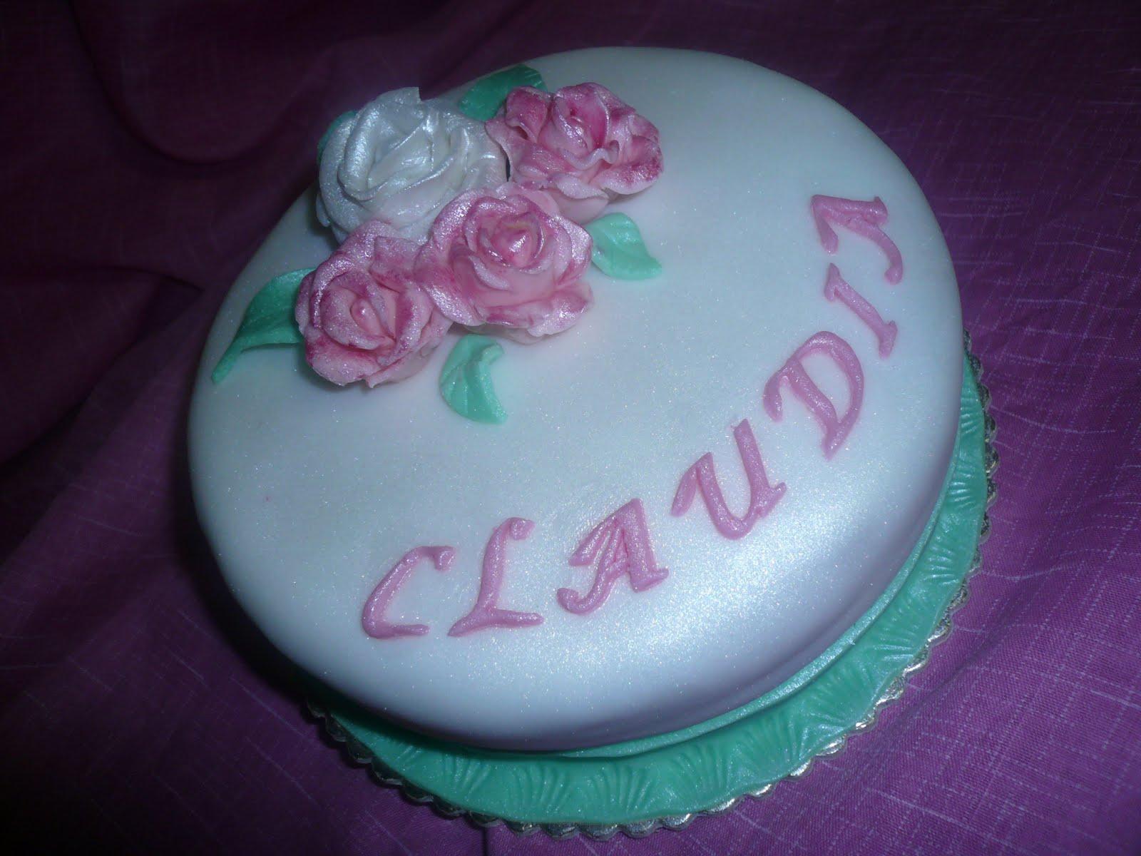 Le Torte di Briciole di Cannella: Auguri Claudia