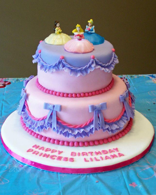 Princesses Cakes Design