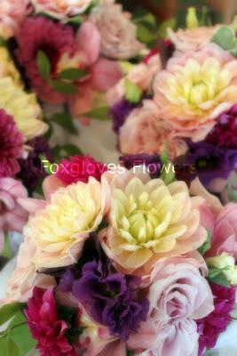 sarahs+bouquets p - Sarah and Luke - July 17th 2010