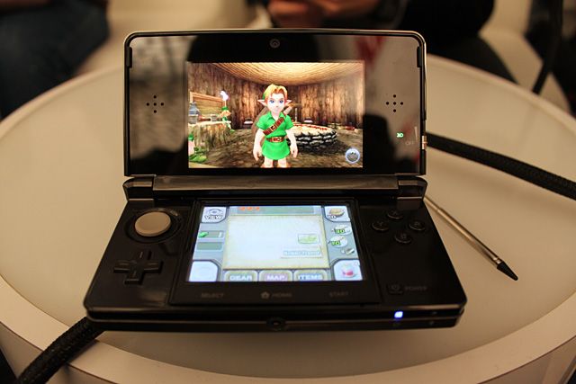 Nintendo 3DS: Legend of Zelda Ocarina of Time 3D screensMVGN