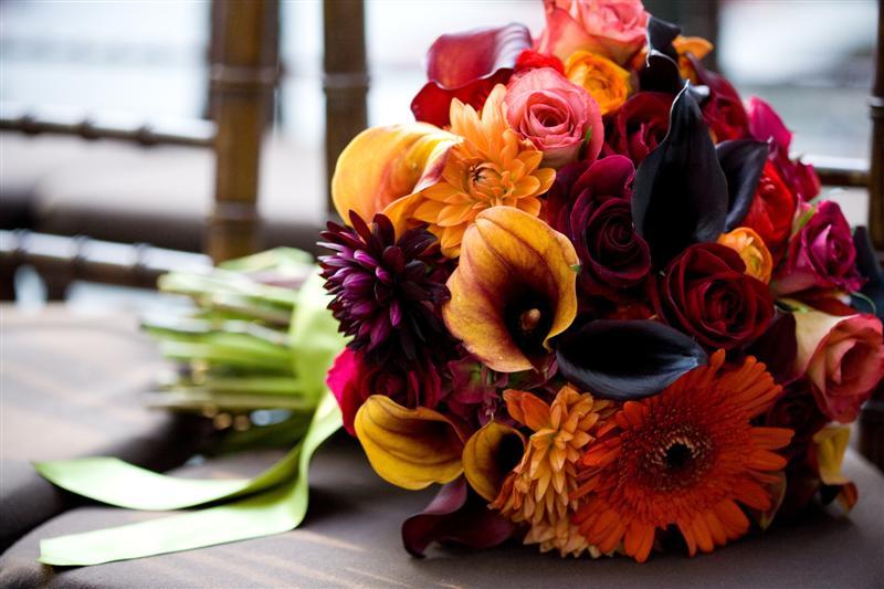 Steven Bruce Design Fall Wedding At Private Home