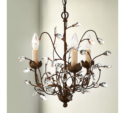 Pottery Barn Camilla 3 Arm Chandelier