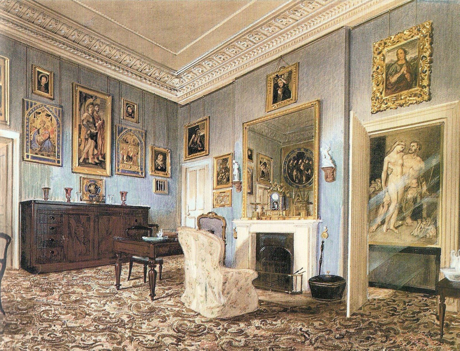 Prezzi Camere Da Letto Gotha georgiana's garden: la casa vittoriana - primo piano