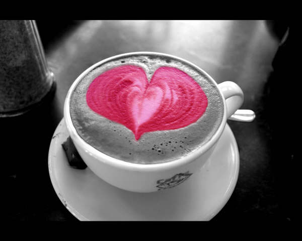 Valentines Wallpapers: A Cup of Love Wallpaper, Cute Cup ...