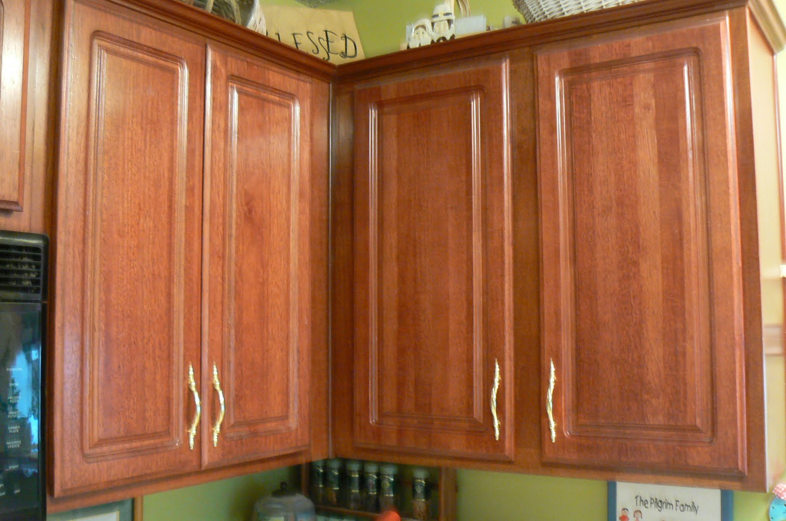 Glazed Kitchen Cabinets Images Of Remodeled Kitchens My 4littlepilgrims Painted And