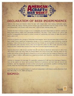 Declaration of American Beer Independence