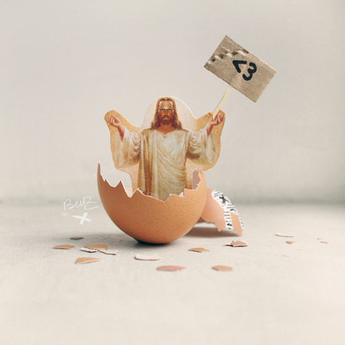 Jesus keeps changing his appearance Google GroupsJesus Easter Egg