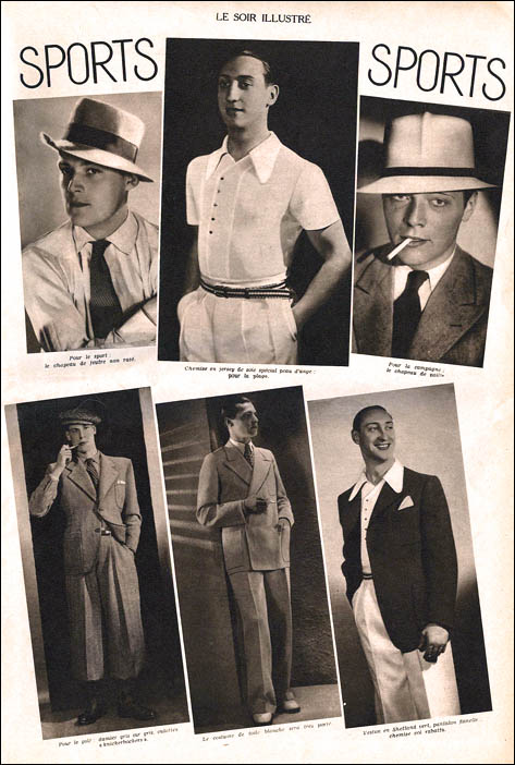 Men S Fashion 1930s: Theater UNCA's Reefer Madness Resource Page: 1930s Fashion