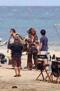 Piratas del Caribe 4: En Costas Extrañas Johnny Deep Jack Sparrow