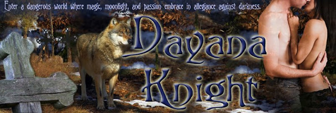Dayana Knight, Paranormal Author