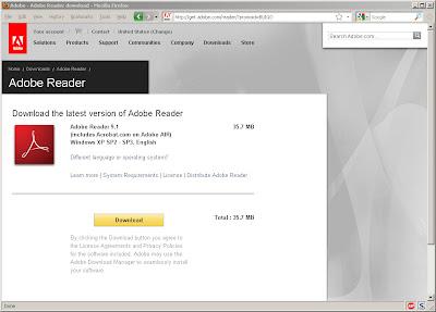 Adobe Acrobat Reader Potential Exploit