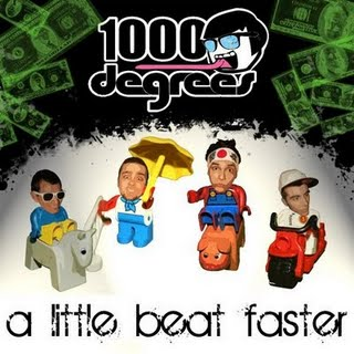 1000 Degrees - A Little Beat Faster EP (2009)
