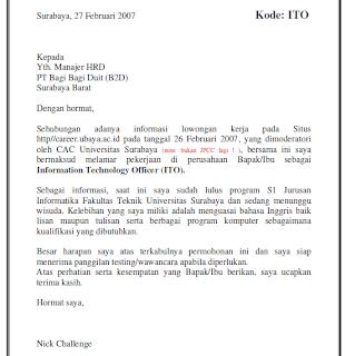 Contoh Format Resume Kerja Special Education Teacher Cover Letter