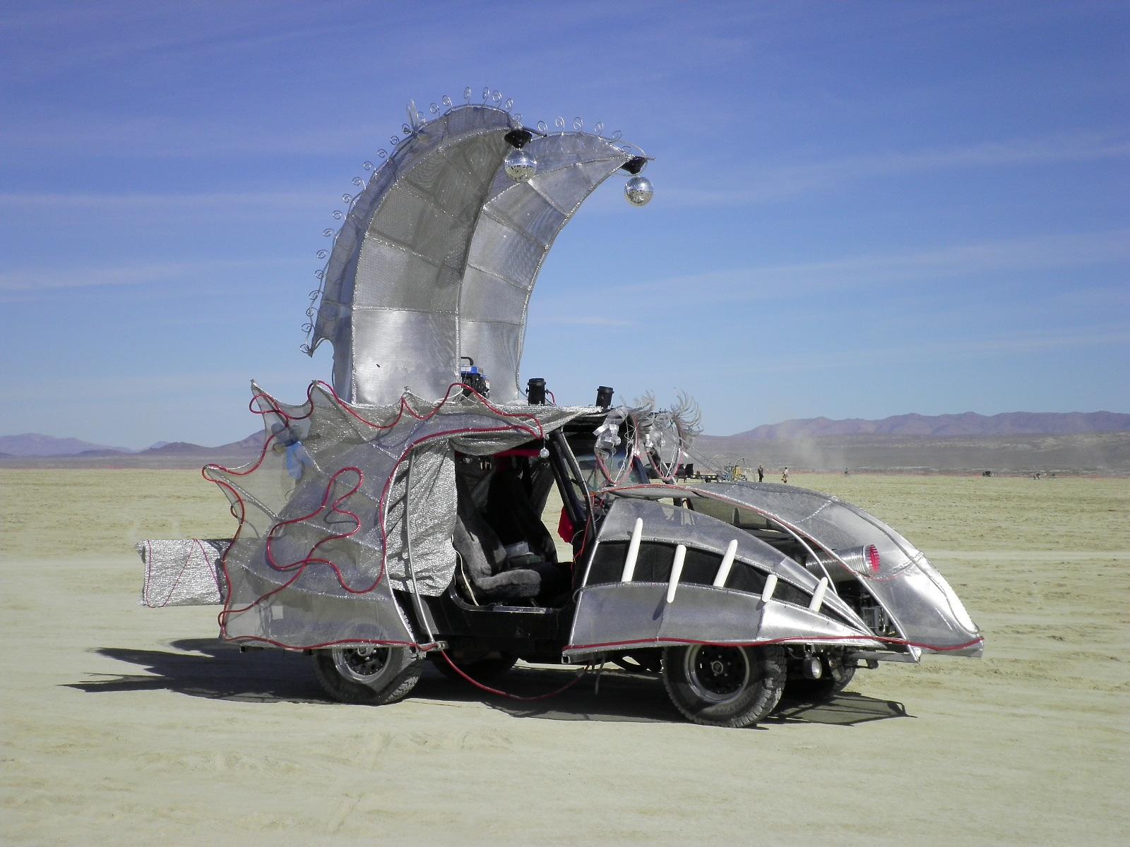 Big Red Van Adventures Burning Man