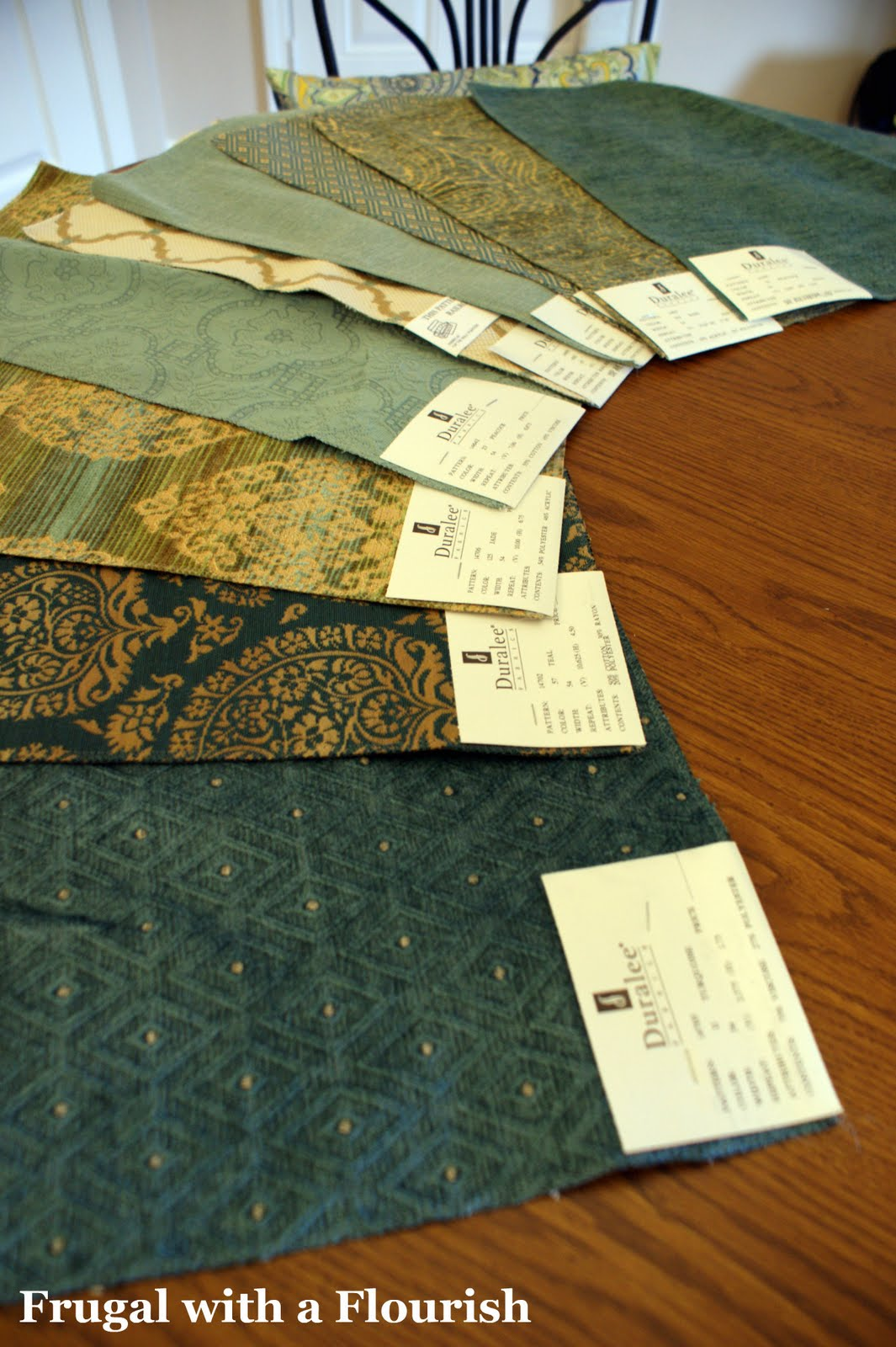 Frugal With A Flourish Making No Sew Pillows Out Of Fabric Samples