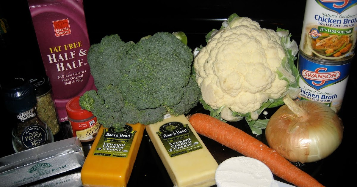 Broccoli Cauliflower Soup Recipe Food Network
