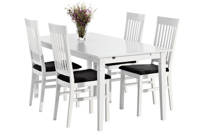 litet köksbord med klaff