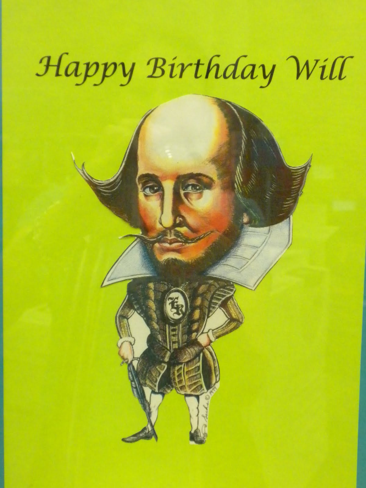 LitLinx: Happy Birthday, William