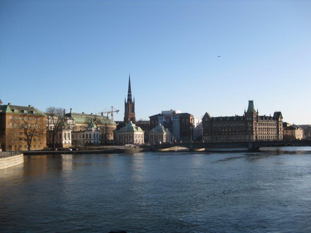 Blick auf Riddarholmen, Stockholm