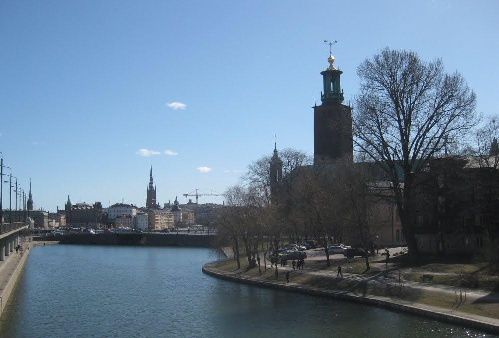 Stockholms Stadshuset, das Rathaus Stockholms