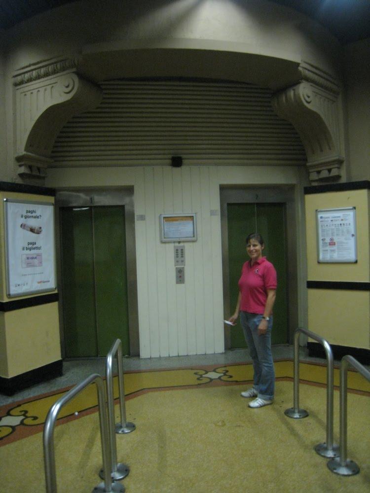 Impressionen Genua - Aufzug
