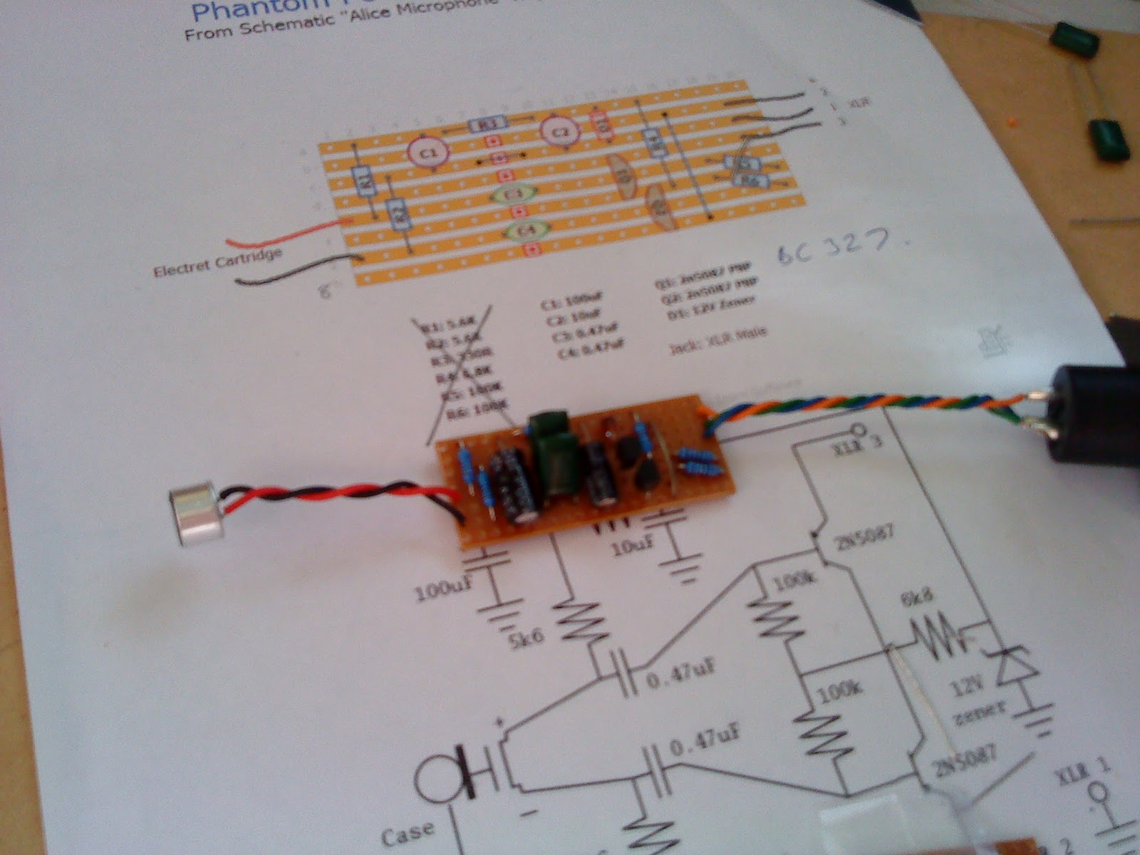Mic Circuit Design