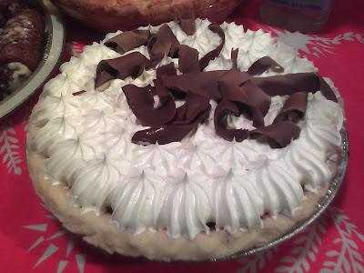 Dark Chocolate Velvet Pie