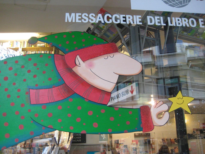 Decorazioni Natalizie Lugano.Celine Meisser Decorazione Natalizia Vetrina Melisa Di Locarno E Lugano