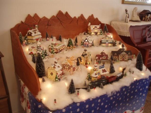 Brian R Moore Christmas Village
