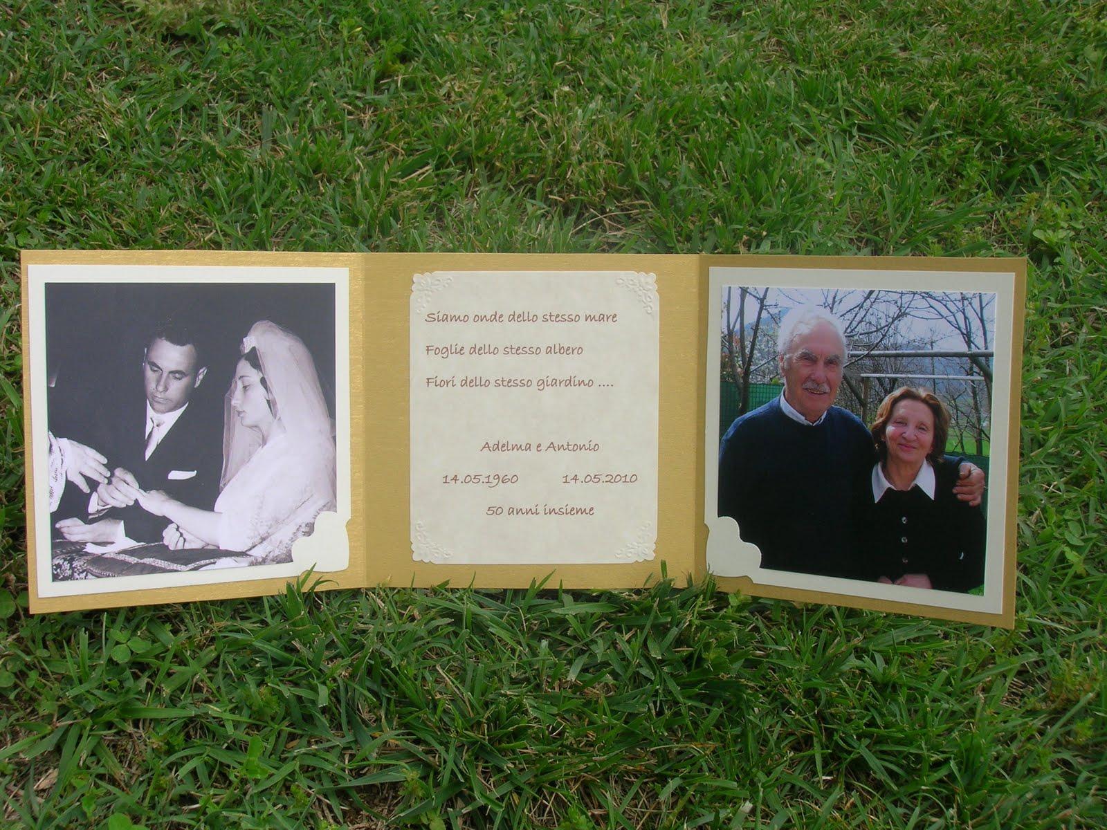 Biglietto 50 Anniversario Matrimonio.Fabylab Biglietti Per Il 50 Anniversario Di Matrimonio